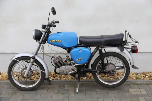 Simson S50N Blau Original