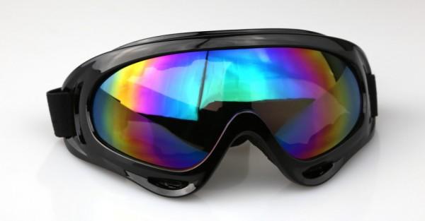 Kids Pro Kinder Motocrossbrille KB1 Black RB