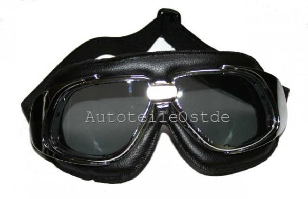 105 Oldtimer Brille Schwarz T10
