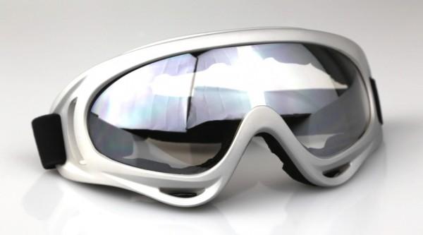 Kids Pro Kinder Motocrossbrille KB2 Grau