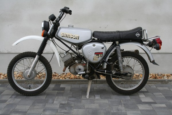 Simson S51 Enduro Silber