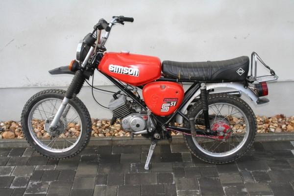 Simson S51 Enduro Rot