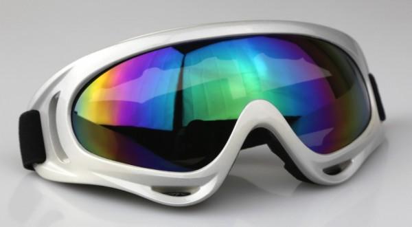Kids Pro Kinder Motocrossbrille KB1 Grau RB