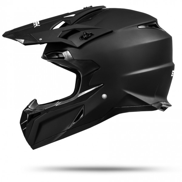 MX Mexico Motocross Helm Schwarz matt ECE 2205