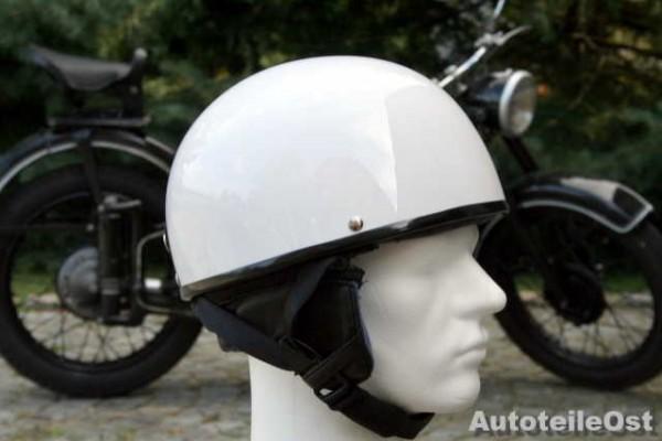 Oldtimer Helm in Weiß
