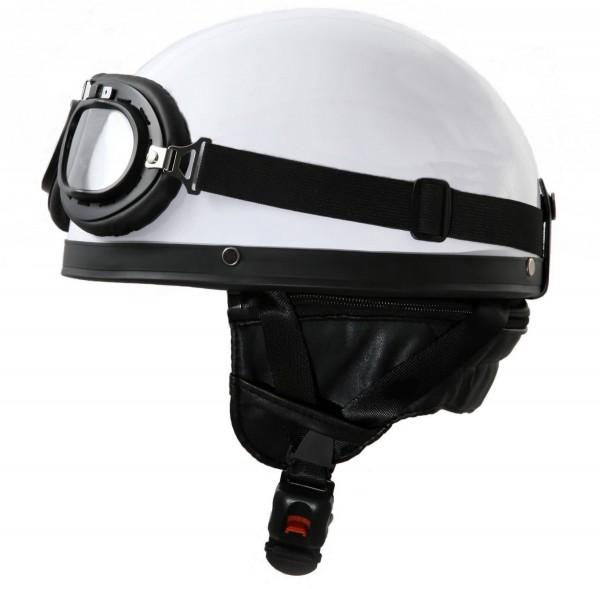 1 ATO H110 Halbschale mit Brille Weiß